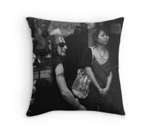 it's all done with mirrors Throw Pillow