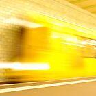 Samariterstrasse Station. Berlin by Jean-Luc Rollier