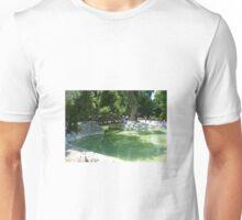 in the greek gardens Unisex T-Shirt
