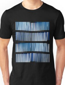 Blue Ripple Abstract T-Shirt