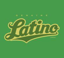 GenuineTee - Latino (green/yellow) by GerbArt