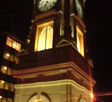 small clock tower by Sandra Everley