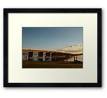 Forster-Tuncurry Bridge Framed Print