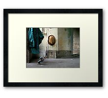 Walk Time Framed Print
