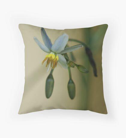 Little Blue Throw Pillow