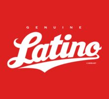 GenuineTee - Latino (white) by GerbArt