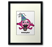 Birthday Ball Framed Print