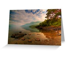 Lomond Light Greeting Card