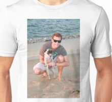 17. Scott & his Pug Unisex T-Shirt