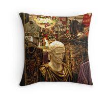 Italia Shop Throw Pillow