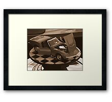The Only One I Could Afford Framed Print