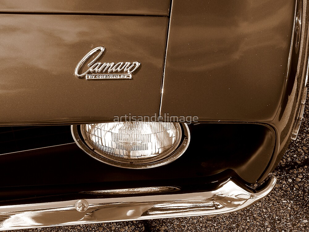 Camaro, By Chevrolet by artisandelimage