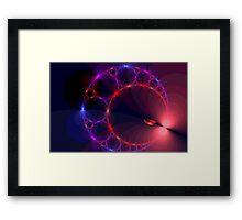 Entering the Stargate Framed Print