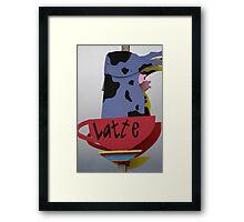 Latte? Framed Print