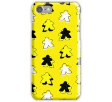 I Call The Yellow Meeple iPhone Case/Skin