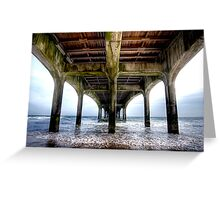 Pier HDR Greeting Card