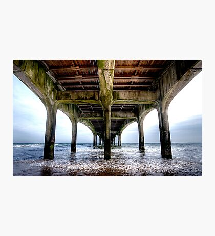 Pier HDR Photographic Print