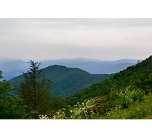 Blue Ridge Parkway View Photographic Print