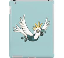 Sulphur Crested Cockatoo in a singlet iPad Case/Skin