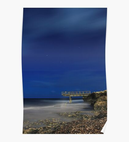 North Beach Jetty - Western Australia  Poster