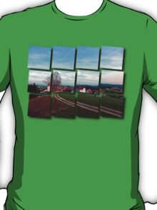 Hiking into springtime scenery | landscape photography T-Shirt