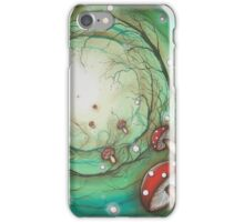 Mushroom Time Travel iPhone Case/Skin