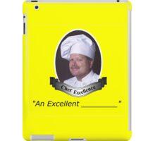 """""""An Excellent ____"""" Sticker iPad Case/Skin"""