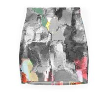 FACE-STANDING OUT FROM THE CROWD Mini Skirt