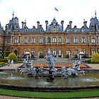 Waddesdon Manor Fountains by Dave Law