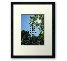 Purple Martin Motel Framed Print