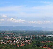 Veresegyház view from Margita by HoremWeb
