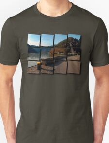 Sunny afternoon at the harbour | landscape photography T-Shirt