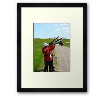 The Volley - Canada Day Celebration - IV Framed Print