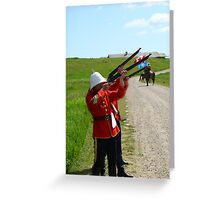 The Volley - Canada Day Celebration - IV Greeting Card