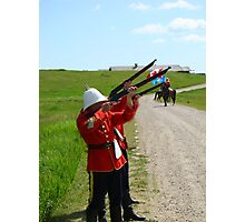 The Volley - Canada Day Celebration - IV Photographic Print