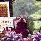 His Holiness The Dalai Lama Plate #3 by Matsumoto