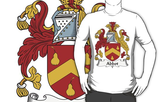 Abbot Family Crest / Abbot Coat of Arms by coatofarms