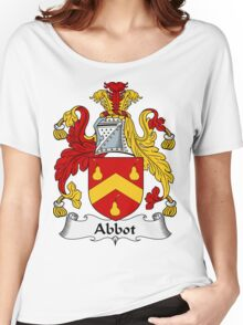 Abbot Family Crest / Abbot Coat of Arms Women's Relaxed Fit T-Shirt