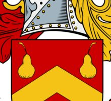 Abbot Family Crest / Abbot Coat of Arms Sticker
