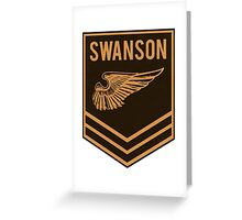 Parks and Recreation - Swanson Ranger Club Greeting Card