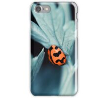 Little visitor amongst the parsley iPhone Case/Skin