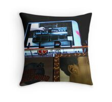 Music After Hours Throw Pillow