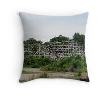Lincoln Park coaster, THE COMET Throw Pillow