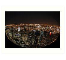 Spherical NYC Art Print