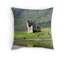 Ardvreck Castle Throw Pillow