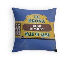 BX Walk of Fame Throw Pillow