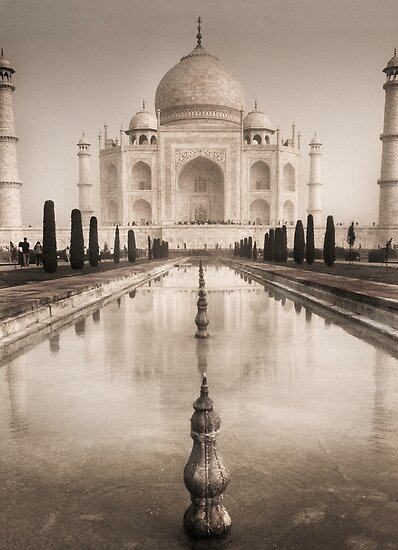 Taj Mahal 1  by James  Archibald