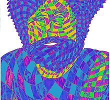 Jerry Garcia 1 by indusdreaming