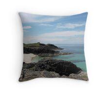 Clachtoll Beach Throw Pillow