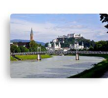 Salzburg, Austria Canvas Print